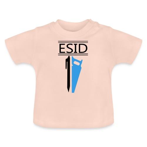 ESID Zwart-blauw - Baby T-shirt