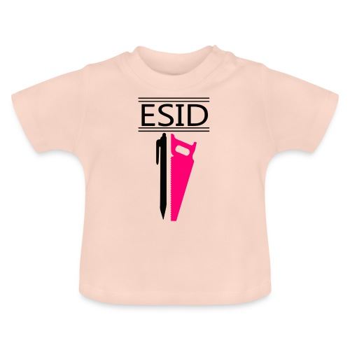 ESID Zwart-roze - Baby T-shirt