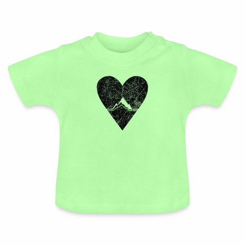 Bergliebe - used / vintage look - Baby T-Shirt