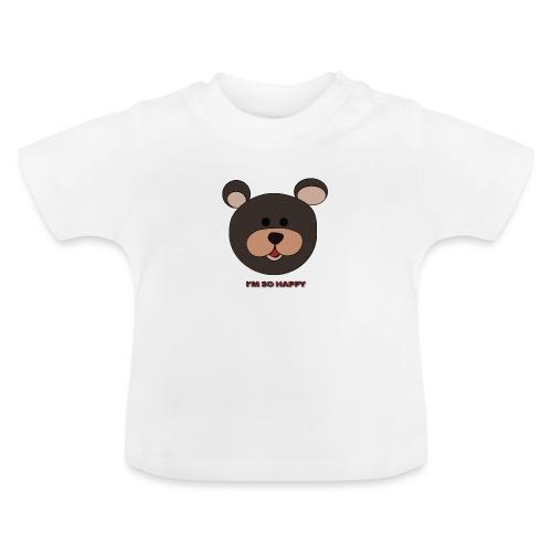 Oso feliz - Camiseta bebé