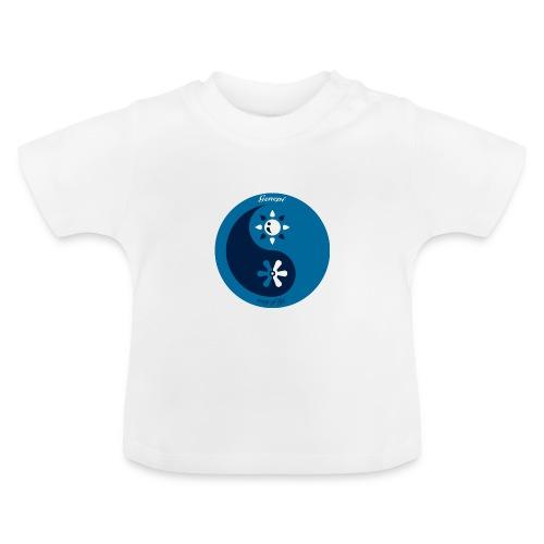 gh yinyang bleu - T-shirt Bébé