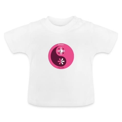 gh yinyang rose - T-shirt Bébé