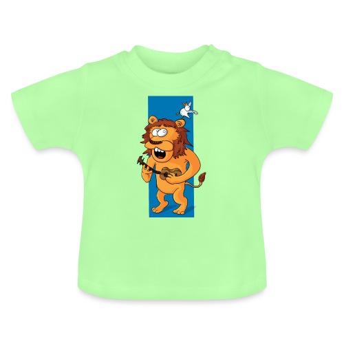 L'ours-lion et l'oiseau - T-shirt Bébé