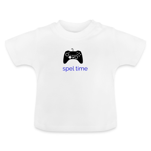 spel time - Baby-T-shirt