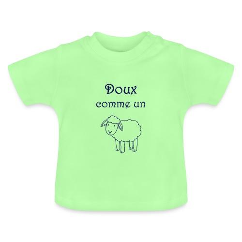 doux-comme-un-agneau-2 - T-shirt Bébé