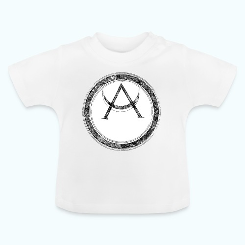 Mystic motif with sun and circle geometric - Baby T-Shirt