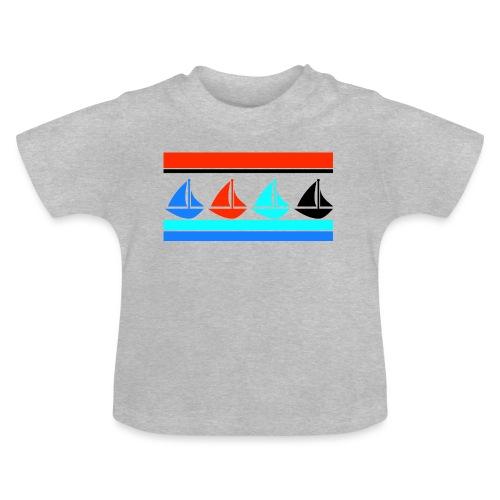 Segelboote Segelboot Segeln Maritim Boot Geschenk - Baby T-Shirt
