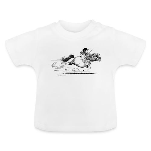 Thelwell Cartoon Pony Sprint - Baby T-Shirt