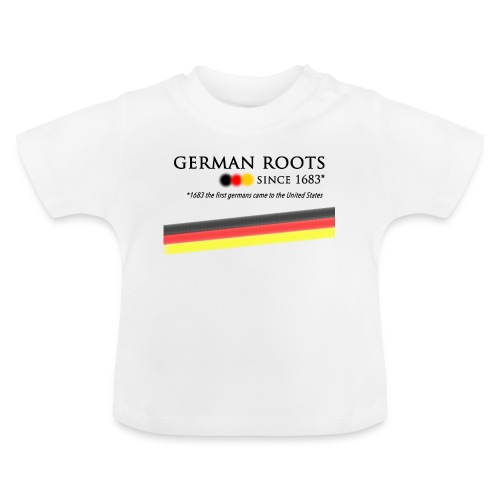 German roots in USA - Baby T-Shirt
