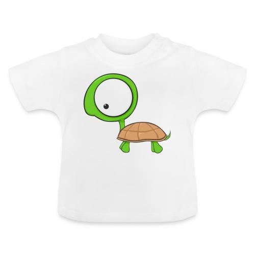 Cartoon Turtle - Camiseta bebé