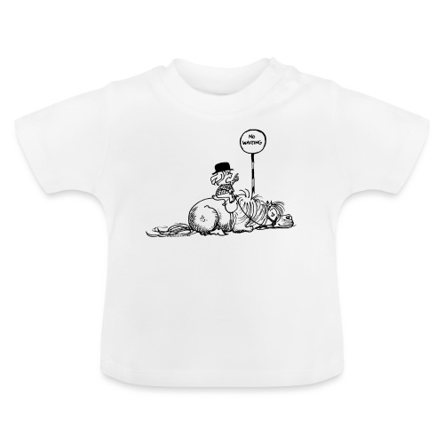 Thelwell 'No waiting' - Baby T-Shirt