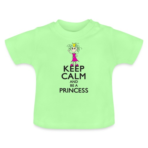 Keep calm an be a princess - Baby T-Shirt