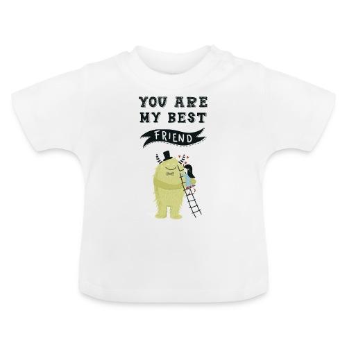 Du bist mein bester Freund 1 - Baby T-Shirt
