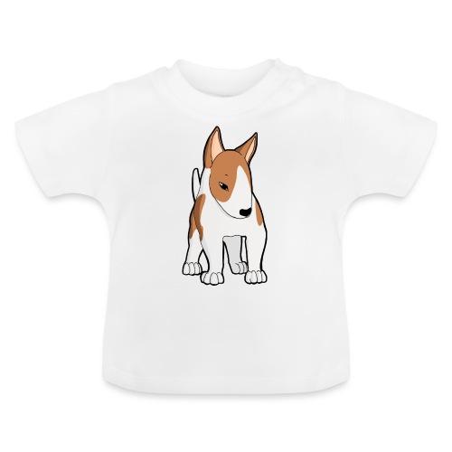 Bull Terrier bianco fulvo - Maglietta per neonato