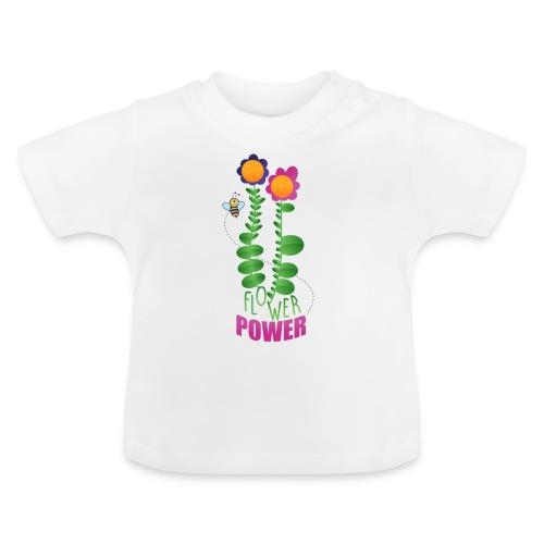 BLUMENLEISTUNG - Baby T-Shirt