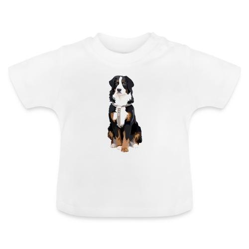 Freja sitter framifrån - Baby-T-shirt
