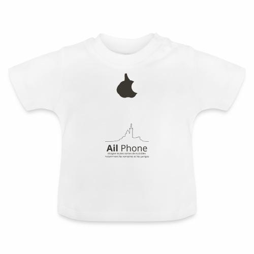 ailphoneok png - T-shirt Bébé