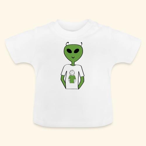 Alien human T-shirt T-shirt - Baby-T-shirt
