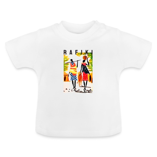 Rafiki = Friend - Baby T-shirt
