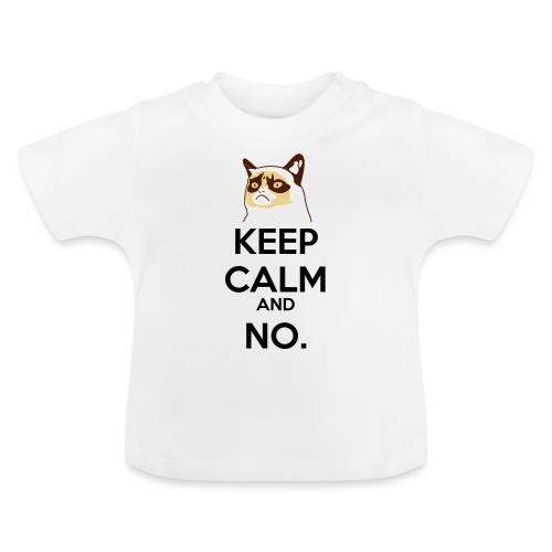 Grumpy Cat Keep Calm - Maglietta per neonato