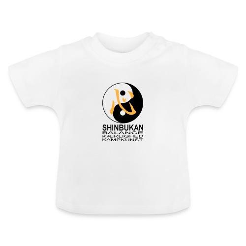 Shinbukan Tai Chi symbol og tegnet Kokoro - Baby T-shirt