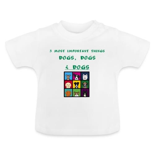 3 most important things - - Vauvan t-paita