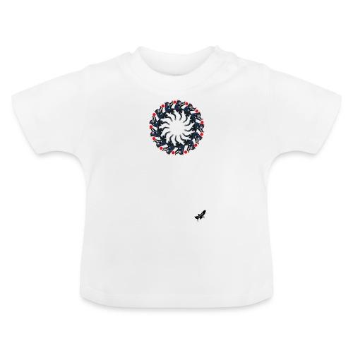 'Tasmanian Devil Mandala' by BlackenedMoonArts - Baby T-shirt