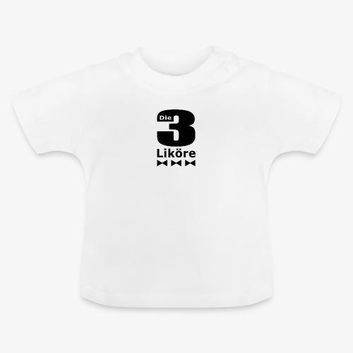 Die 3 Liköre - Kids logo schwarz - Baby T-Shirt