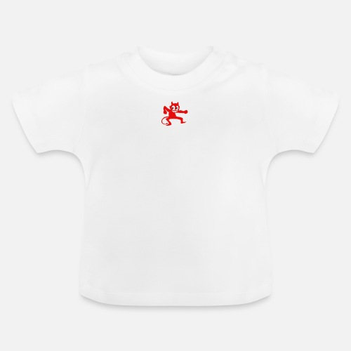 Keep Calm and Dance With the Devil - Baby T-shirt