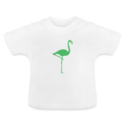Flamingo Gruen - Baby T-Shirt