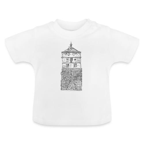 Schwarzes Tor Rottweil Grafik schwarz - Baby T-Shirt