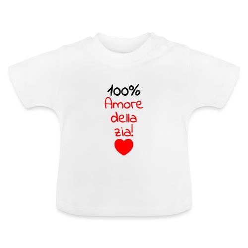 body neonato con frase divertente Zia - Maglietta per neonato