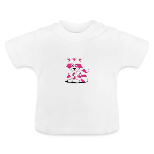 randolpf the raging racoon Digitalmotiv - Baby T-Shirt