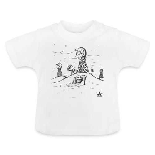 ligne de base arctique croquis - T-shirt Bébé