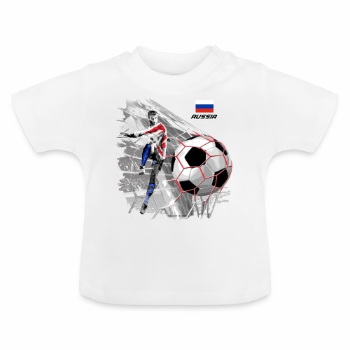 GP22F-04 RUSSIAN FOOTBALL TEXTILES AND GIFTS - Vauvan t-paita