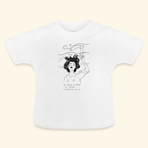 Se dovessi scordarmi di respirare - Maglietta per neonato
