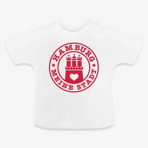 HAMBURG MEINE STADT Wappen 1c - Baby T-Shirt