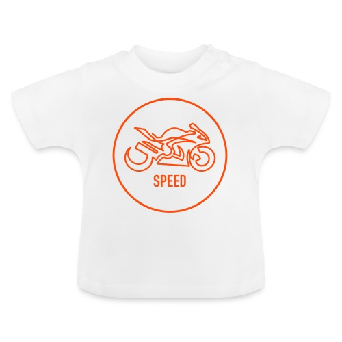 »One Line« Motorcycle - »SPEED« - Baby T-Shirt