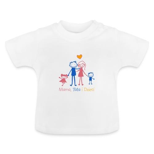 Mama Tata i Dzieci - Koszulka niemowlęca
