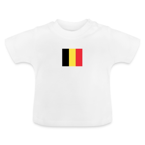 vlag be - Baby T-shirt
