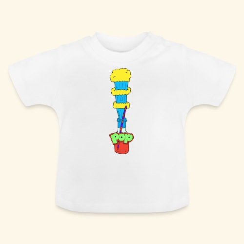 Flaschen Pop - Baby T-Shirt