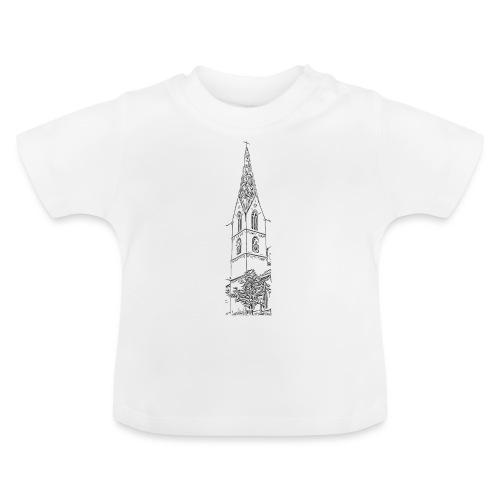 Heilig-Kreuz-Münster Rottweil schwarz - Baby T-Shirt