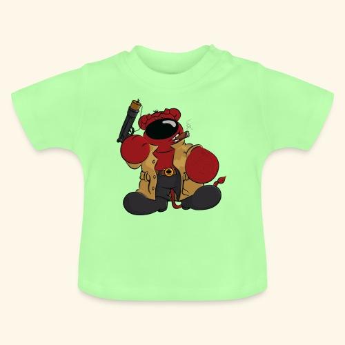 chris bears Der Bär ist ein Superheld - Baby T-Shirt