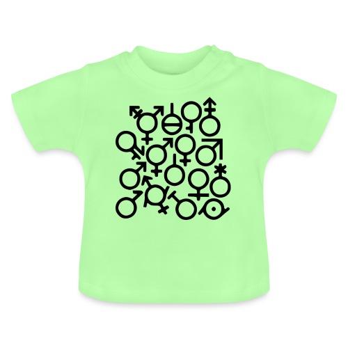 Multi Gender B/W - Baby T-shirt