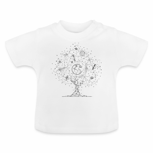Interpretacja woodspace - Koszulka niemowlęca