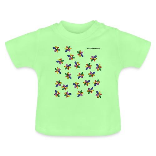colour flower design tc - Baby T-Shirt