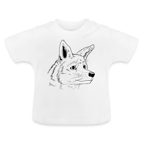 Strichzeichnung Fuchs - Baby T-Shirt