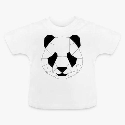 Panda schwarz - Baby T-Shirt