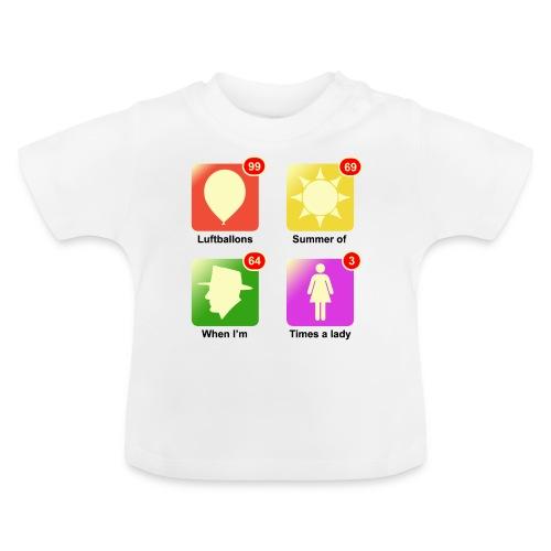 muziek apps - Baby T-shirt