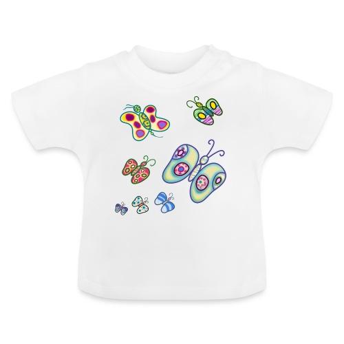 Allegria di farfalle - Maglietta per neonato